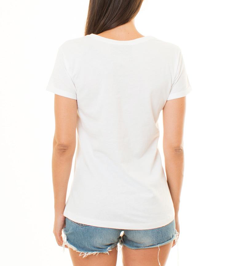 Stardust Camiseta Les Portes Amérique Blanco Réduction édition limitée U7YyHPV