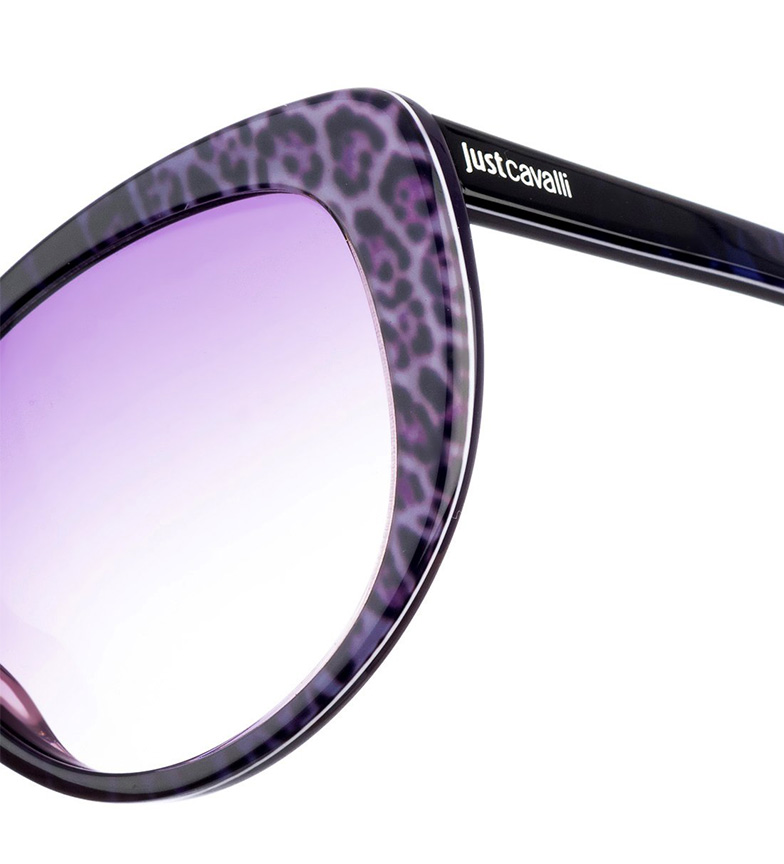 Just Cavalli Gafas De Sol Jc646s Negro, Leopardo