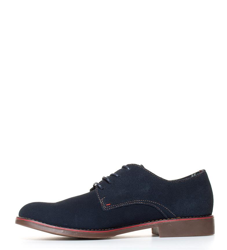 Chaussures En Daim Bleu Marine Xti Stomp la sortie dernière orDXtOhI9h
