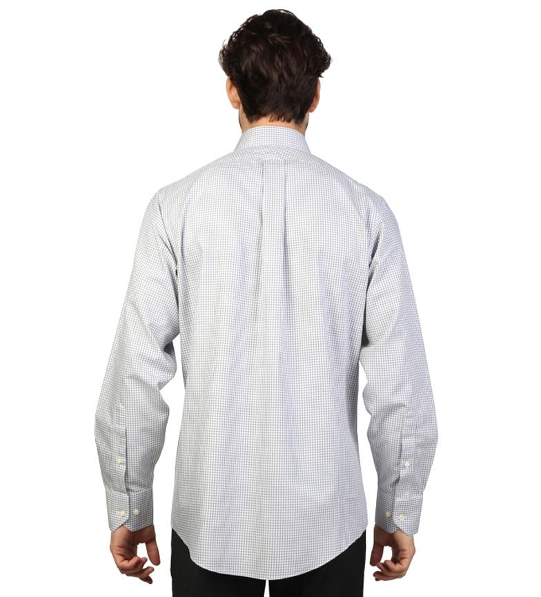 Brooks Brothers Chemise Gris Slim Fit Et Blanc Avec Des Images Remise véritable voQzioUXC