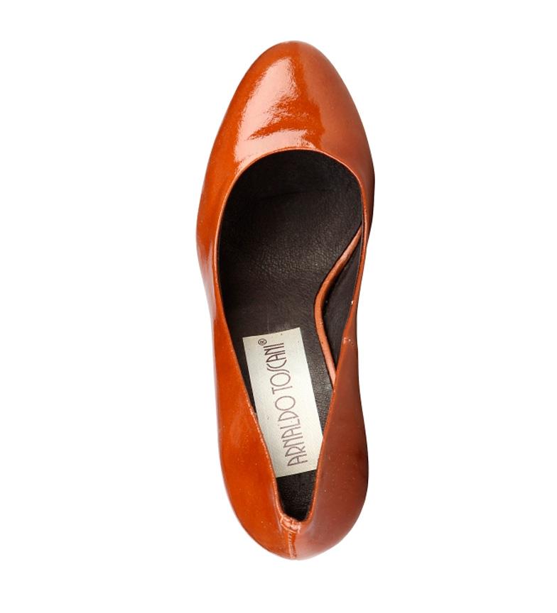 Arnaldo Chaussures En Cuir Toscani Hauteur Du Talon En Cuir Verni De Bonbons: 8cm prix incroyable le moins cher recherche en ligne Q36UuRJI