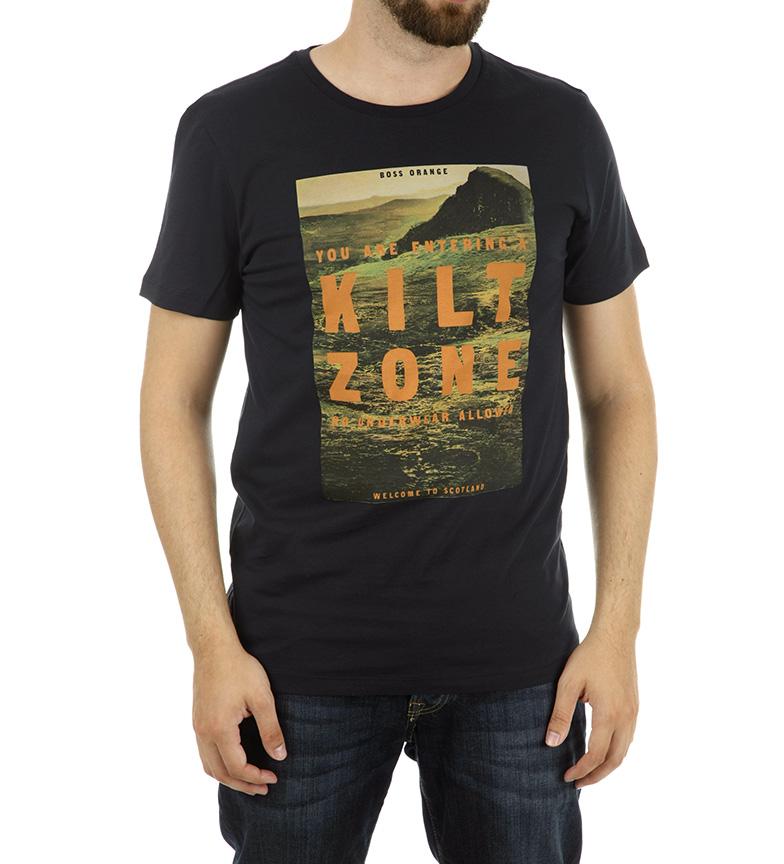 vente Finishline clairance excellente Hugo Boss Camiseta Tommi 2 Marine Foncé NsIEiFSl