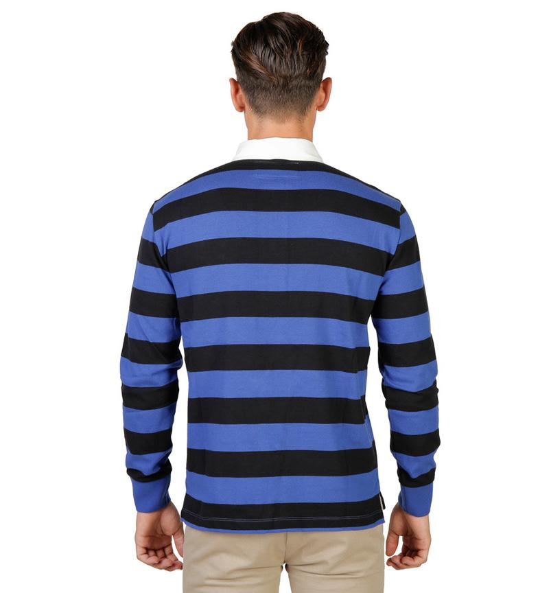 Oxford Université Polo Noir De Rugby De Trinité, Azul
