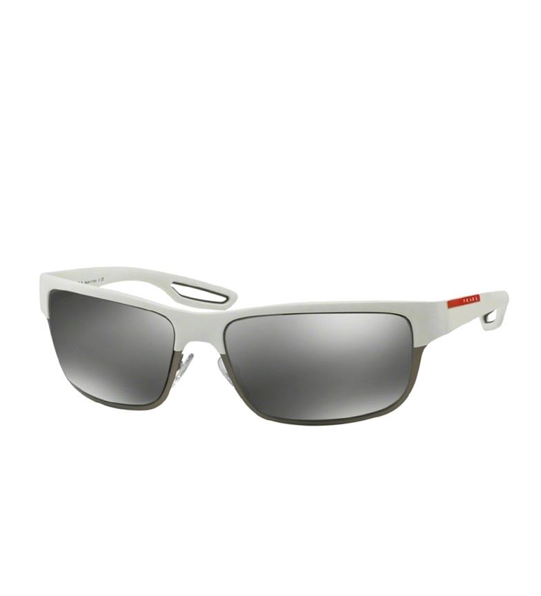 à vendre 2014 plus récent Lunettes De Soleil Prada Et L'acétate De Métal Blanc commercialisables en ligne Footaction meilleur achat bQrd2NJM