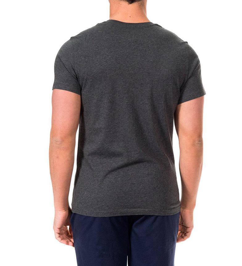qualité supérieure sortie approvisionnement en vente Tommy Hilfiger Camiseta Tronc Gris Oscuro vente recherche M54jEzAGn
