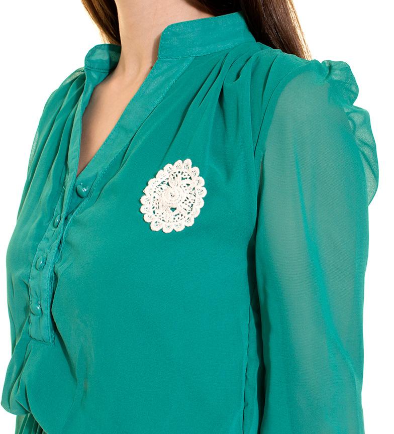 vente Boutique Robe Fleur Verte Azura nicekicks à vendre pas cher confortable Zx5WPv6qR