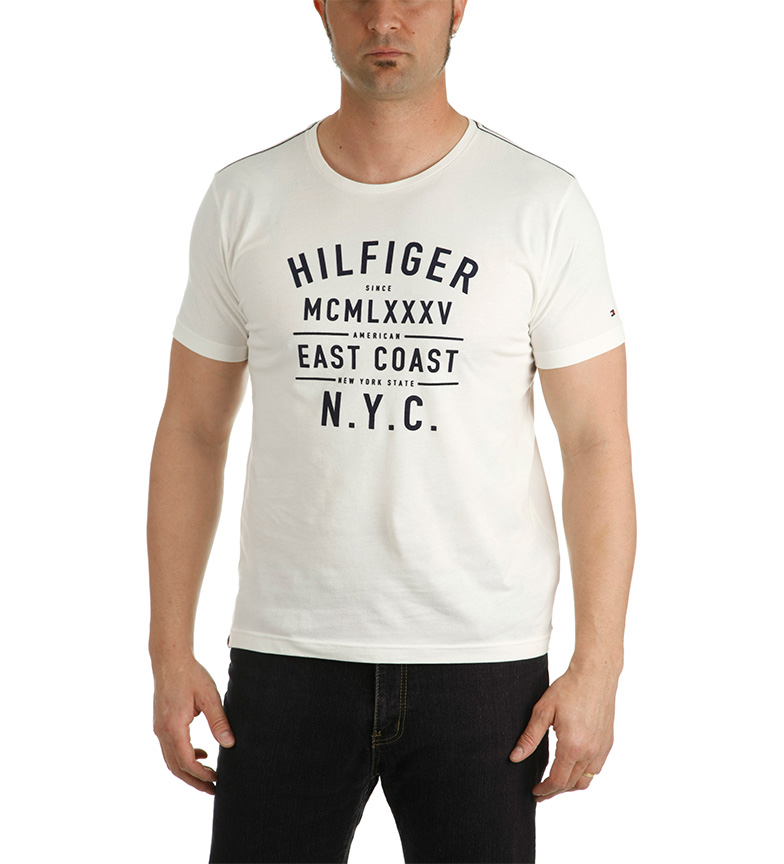 Tommy Hilfiger Camiseta Andr? Granate offre pas cher 3UyFtT