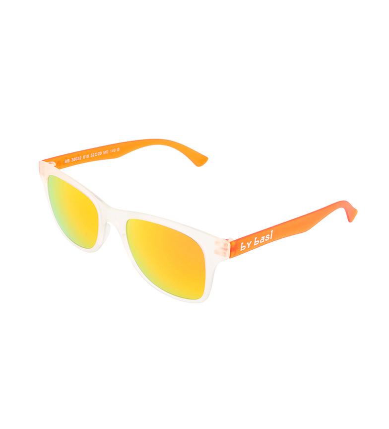B Par Basi Gafas De Sol Bb38032618 Transparente, Naranja