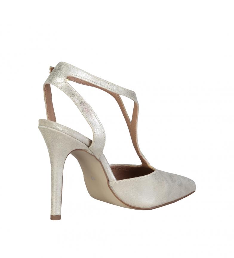 Hauteur Or Talon10 1969 5cm Du Chaussures Cuir Apolline V En mw8n0N