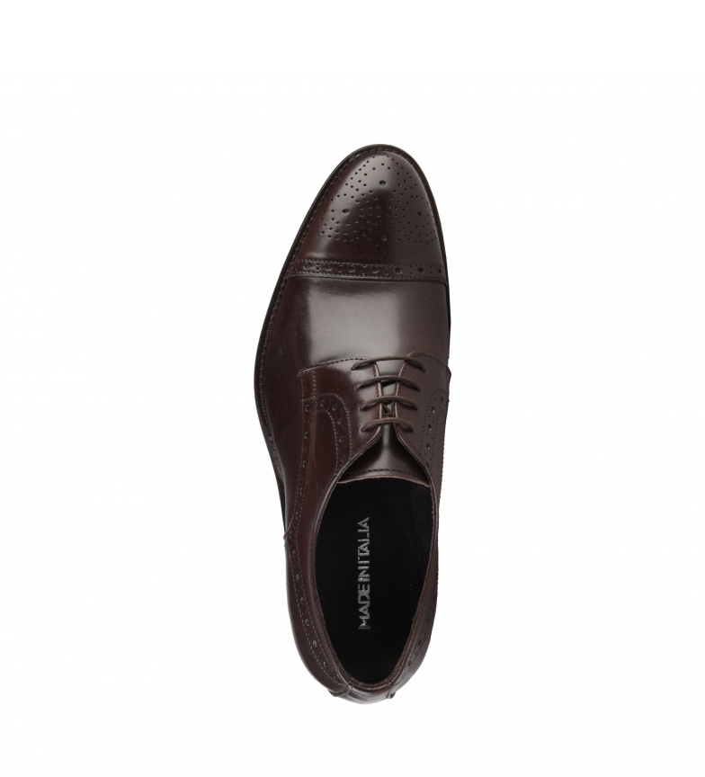 vraiment sortie déstockage de dédouanement Made In Italy Peau Brune Chaussures Giorgio u46W59j7Ih