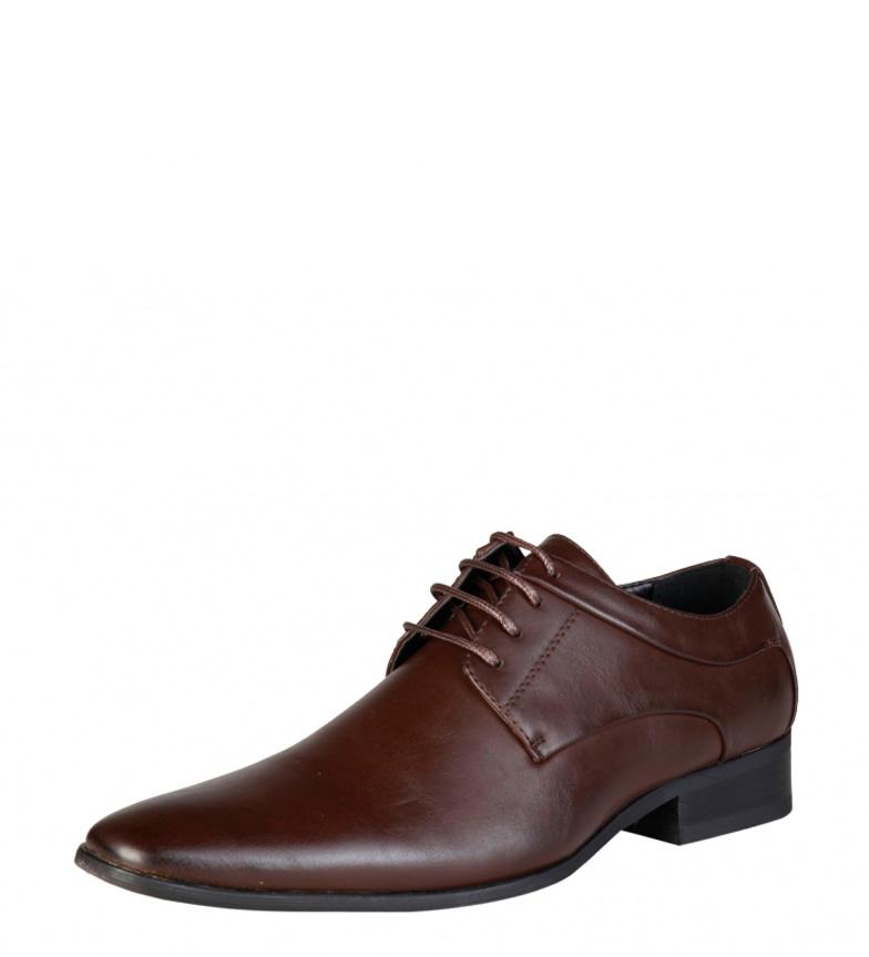 Duca Di Morrone Chaussures Marron Smith vraiment à vendre smN6zq