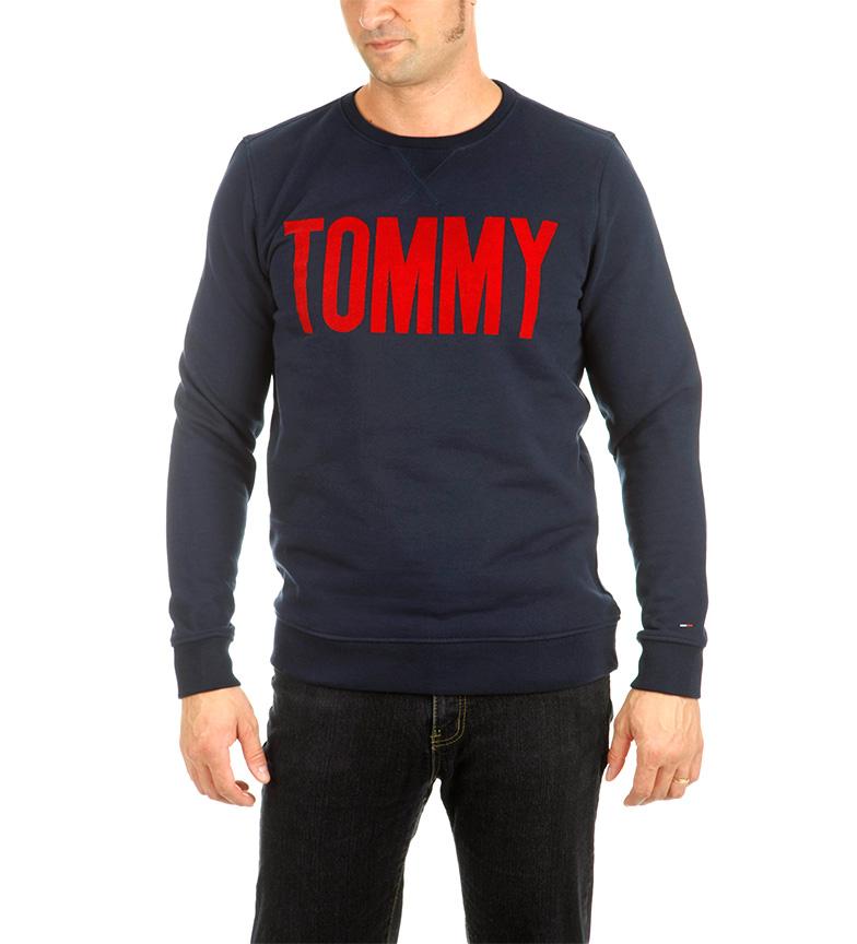 pas cher ebay Tommy Hilfiger Denim Bleu Marine Sweat-shirt dernier nouvelle arrivee prix incroyable GU4lh0