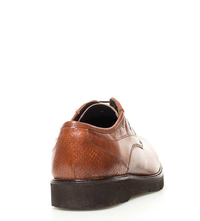 dernière actualisation Elio Berhanyer Chaussures En Cuir 61eb 7 Bronze Brown dédouanement livraison rapide jeu explorer authentique en ligne NxGVIkYJ