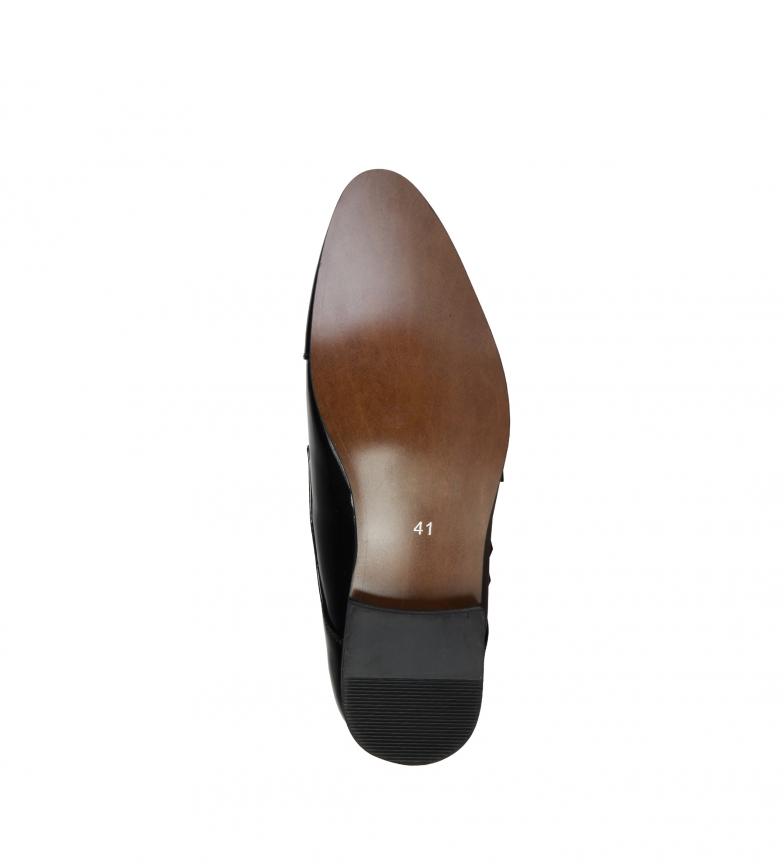 vraiment pas cher Duca Di Morrone James Chaussures Noir mode à vendre Nice 3SpRJ