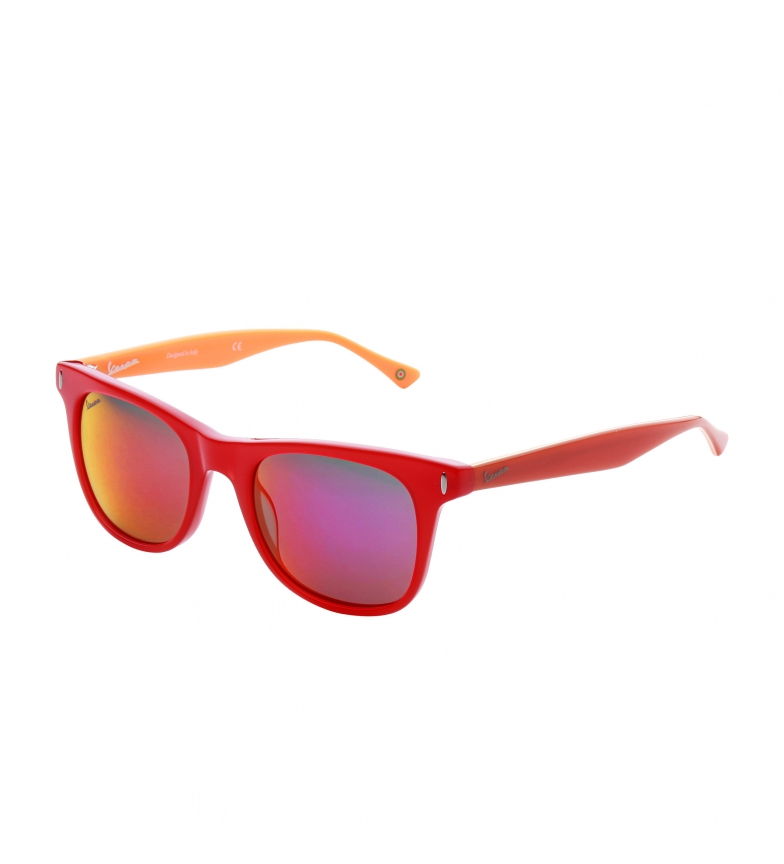 Lunettes De Soleil Scooter Vp12ca Rouge, Orange