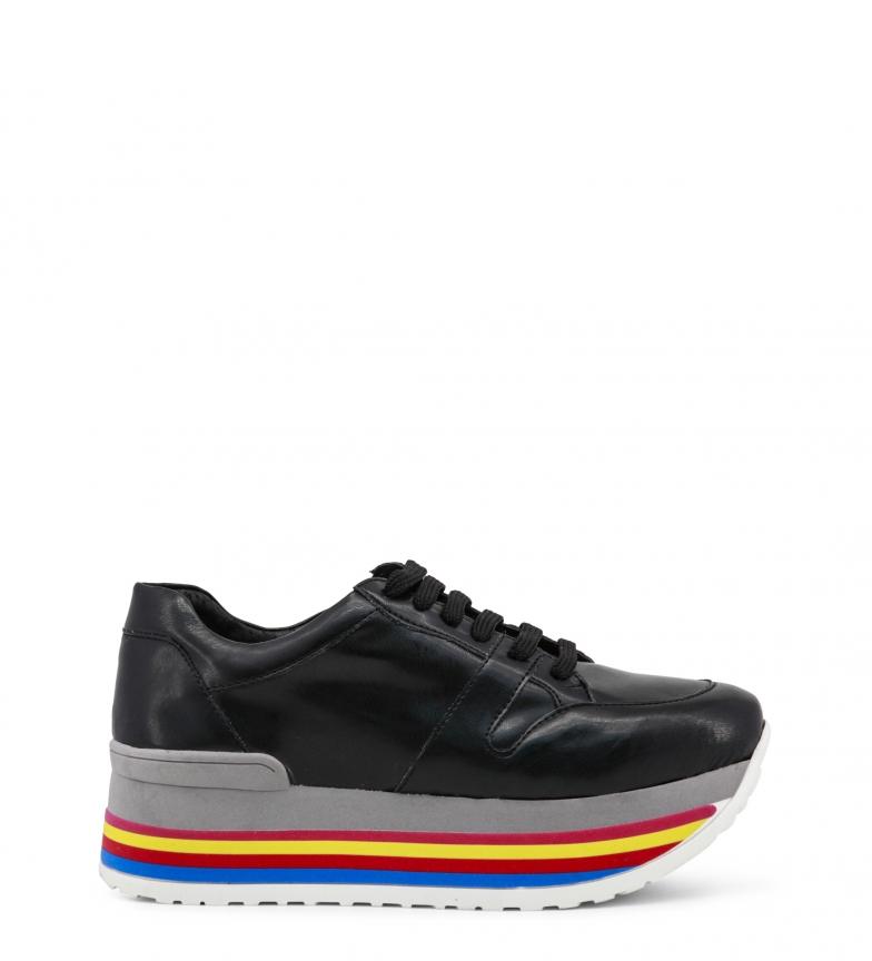 Ana Lublin Sneakers Hauteur Noir De Plate-forme Felicia: 4,5 Cm