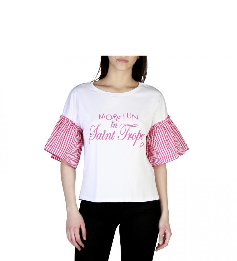 Miss Miss Camiseta 39411 Blanco amazone à vendre 2014 plus récent images footlocker sortie iQGja