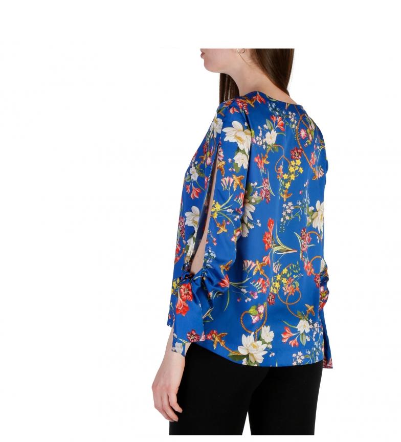 Pinko Camisa 1g139w_6858 Bleu vente avec paypal vente Finishline pas cher combien vue à vendre U4JMrj