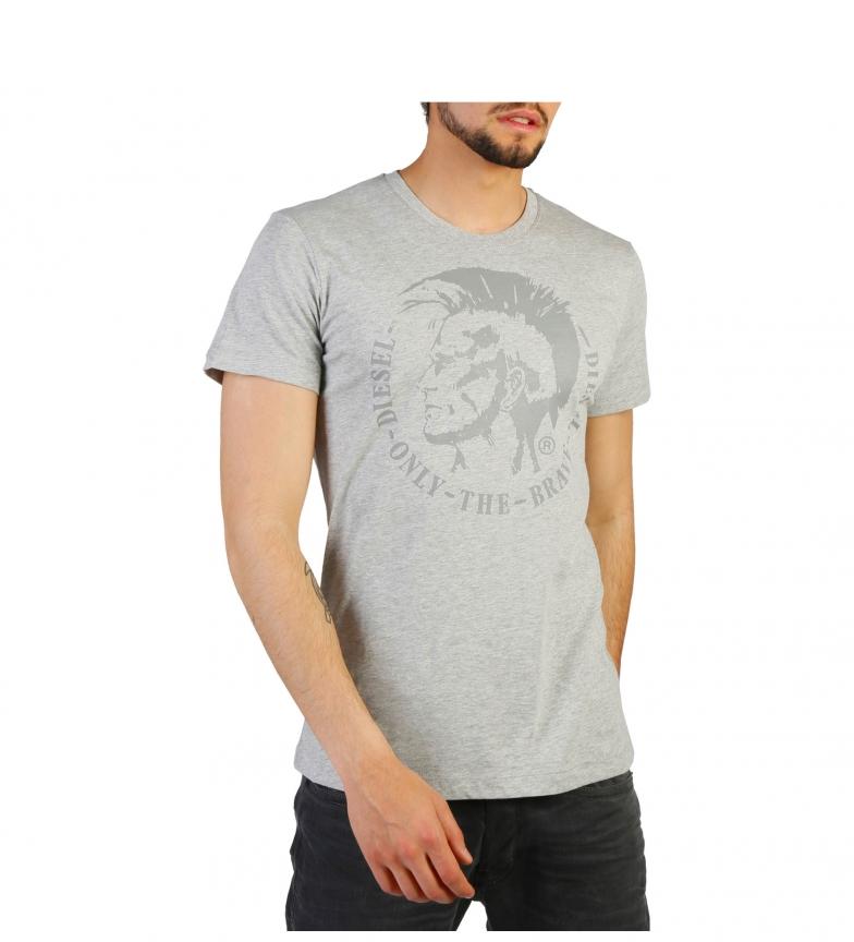 express rapide très à vendre Diesel Camiseta Gris T-head-ps_00alnk_r091b cYqxp