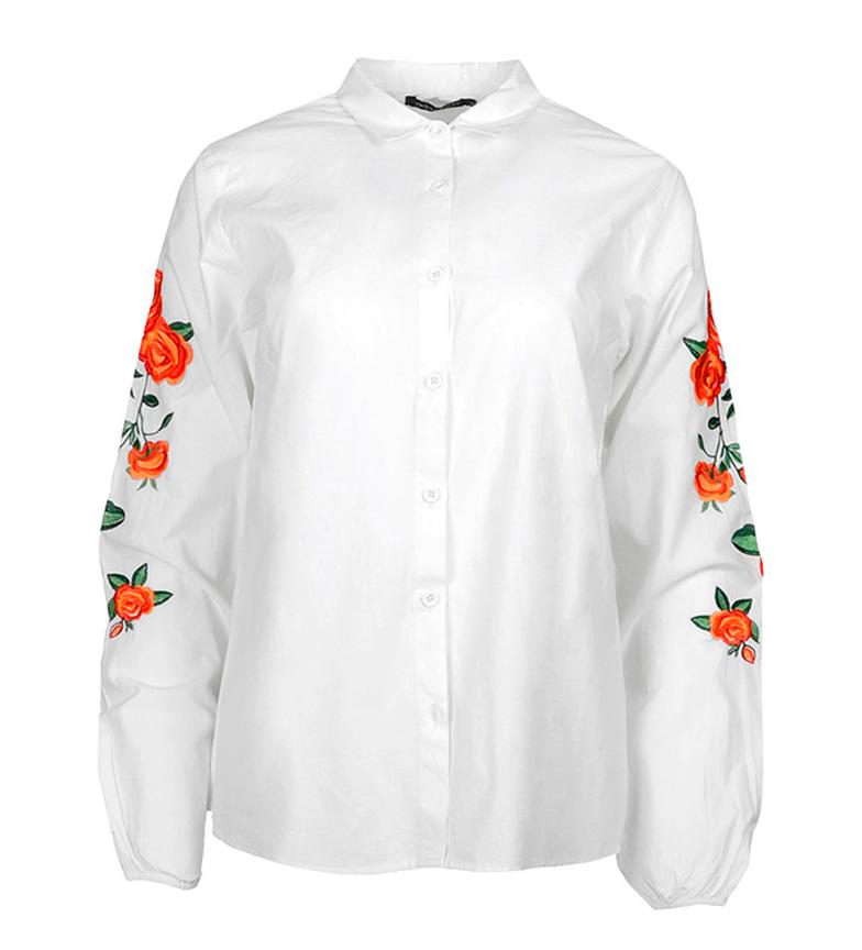 Chats Ada Camisa Alix Blanco haute qualité r8aEi7jW