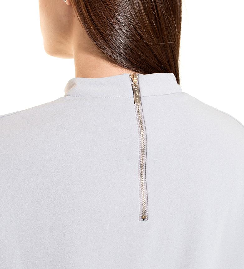 Pas Gatti Elsa Camiseta Gris vente abordable nvqahFSo6x