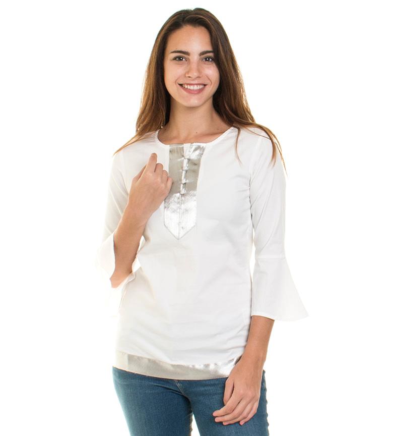 Blouse Espace Blanc Almatrichi où trouver ykSpfog1Hj