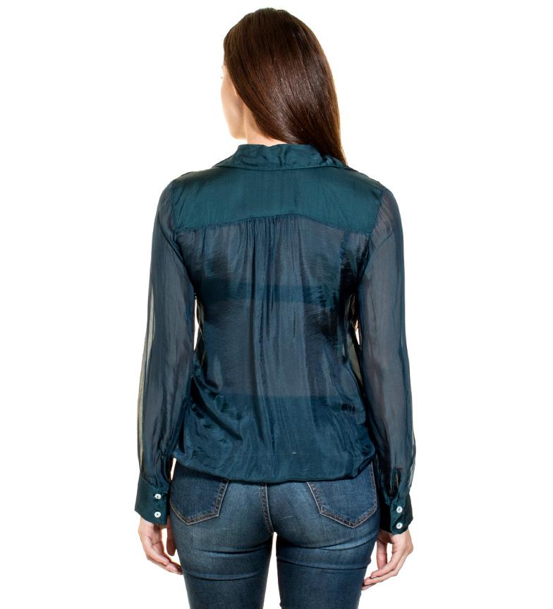 Nice vente Almatrichi Camisa Dupioni Vert classique ufueWAKCy