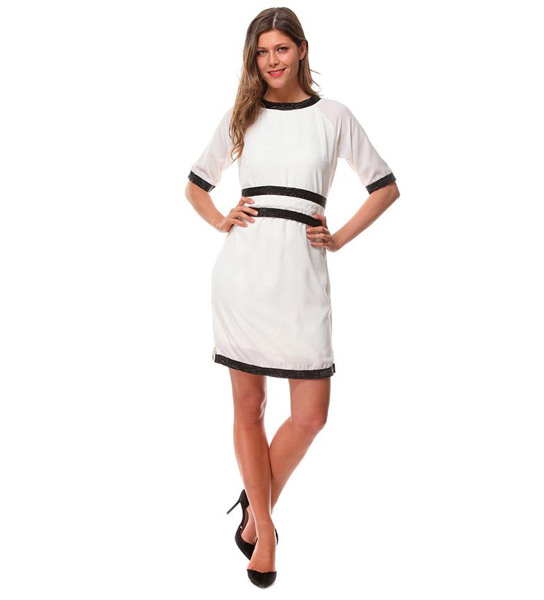 Almatrichi Robe Blanche Persia vente bonne vente C93Oq