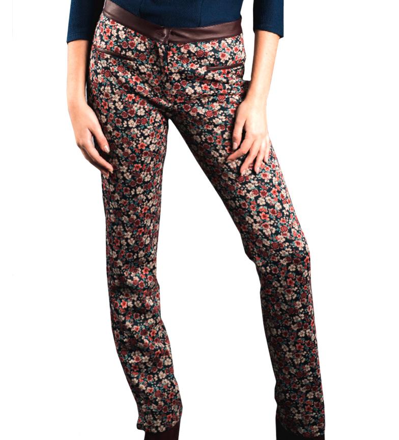 Marine Nolina Pantalon Amarillolimon, Floral