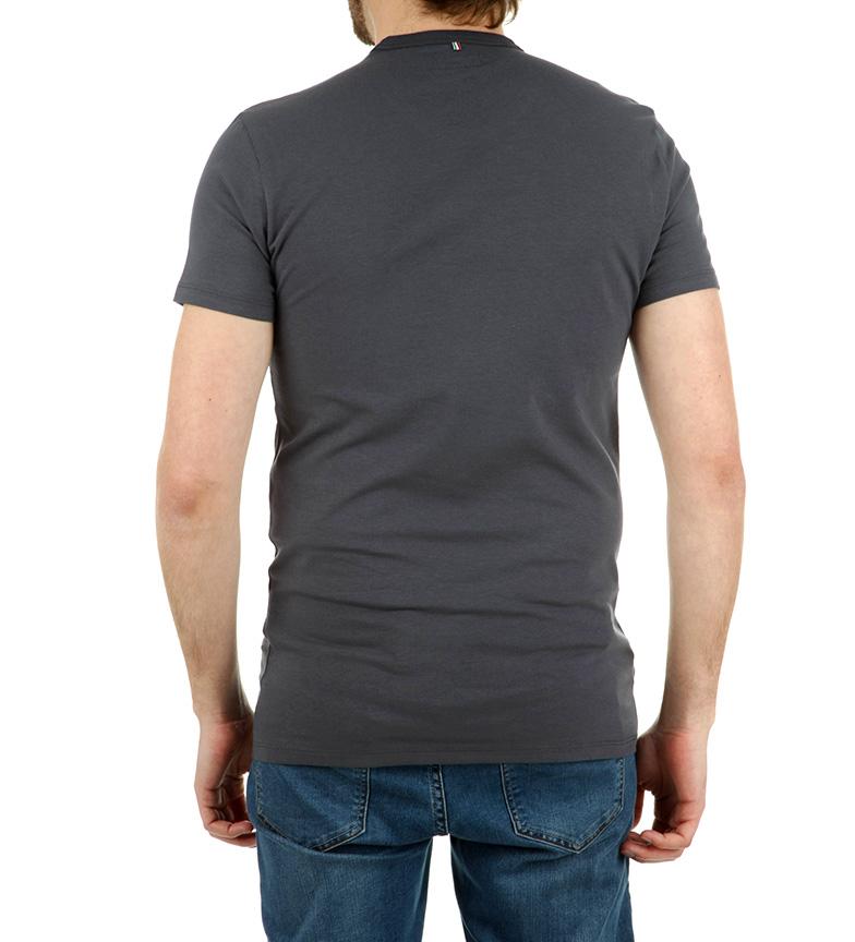 Armani Jeans Camiseta 1981 Marine pas cher ebay CeMOupDoUE
