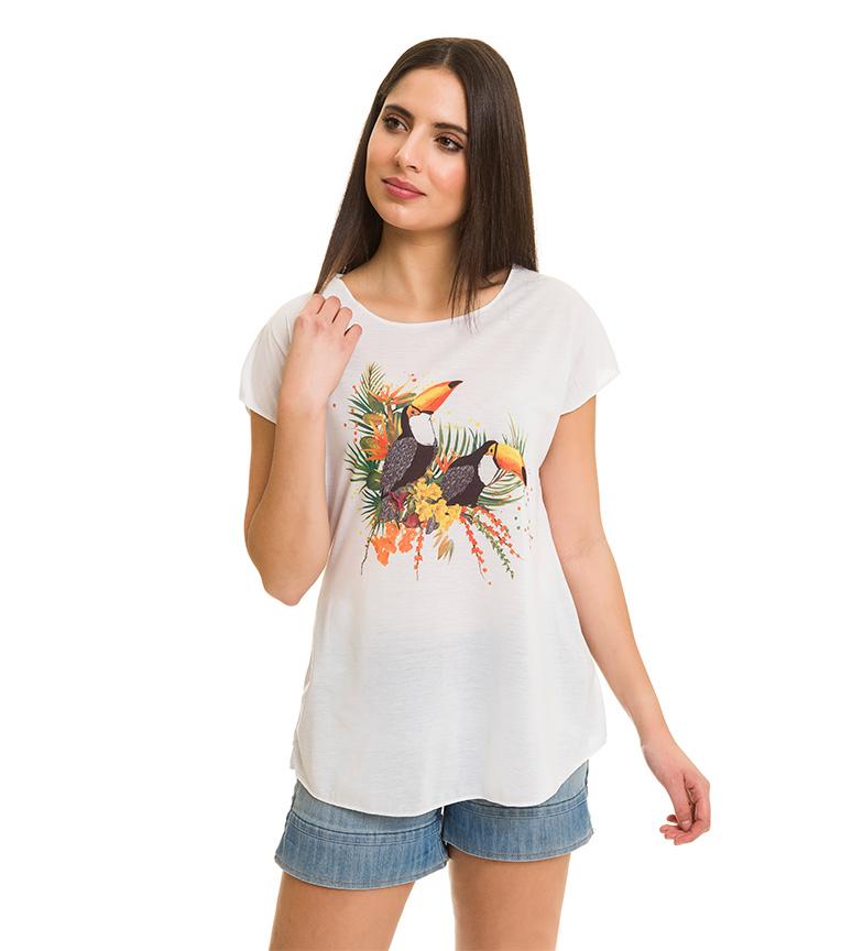 jeu avec paypal Toucan Chemise Blanche Azura collections bon marché pEiVJK1i