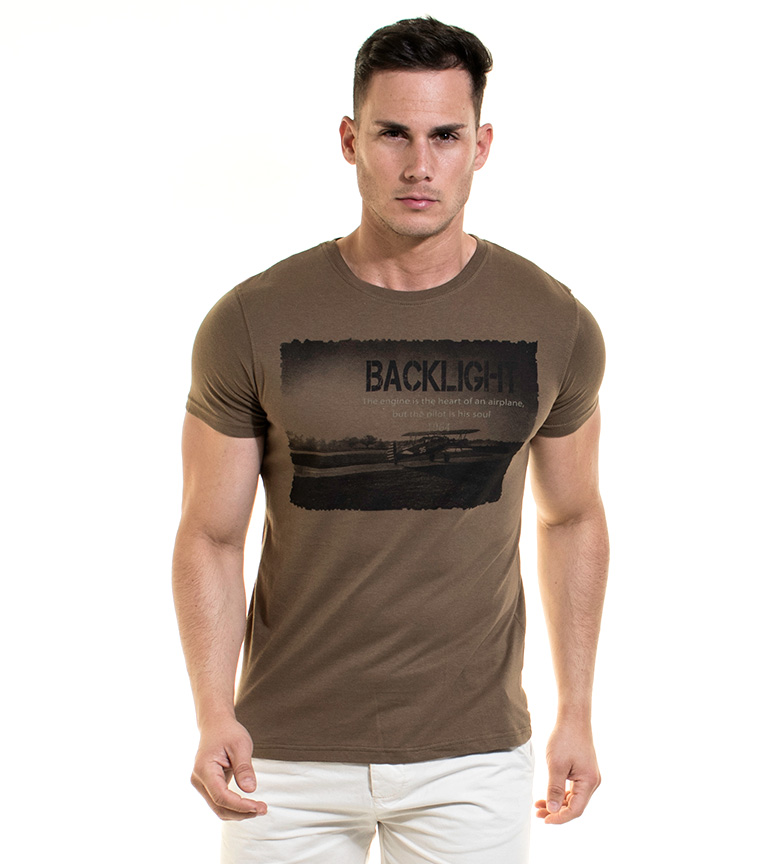 Rétro-éclairage Camiseta Slone Mostaza jeu dernier 5wf9Nj89F