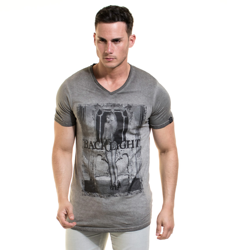 prix bas Rétro-éclairage Camiseta Steeve Antracita classique Livraison gratuite arrivée jmuI9N