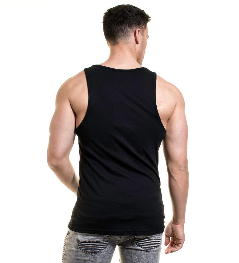 Footlocker à vendre 2014 plus récent Rétro-éclairage Camiseta Yann Negro Livraison gratuite authentique Xil6OUR4D