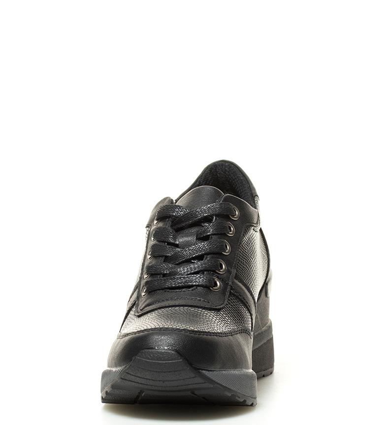 Bass3d Par Xti Chaussures Noires Ester Hauteur Plateau: 6cm. édition limitée explorer eh3vu