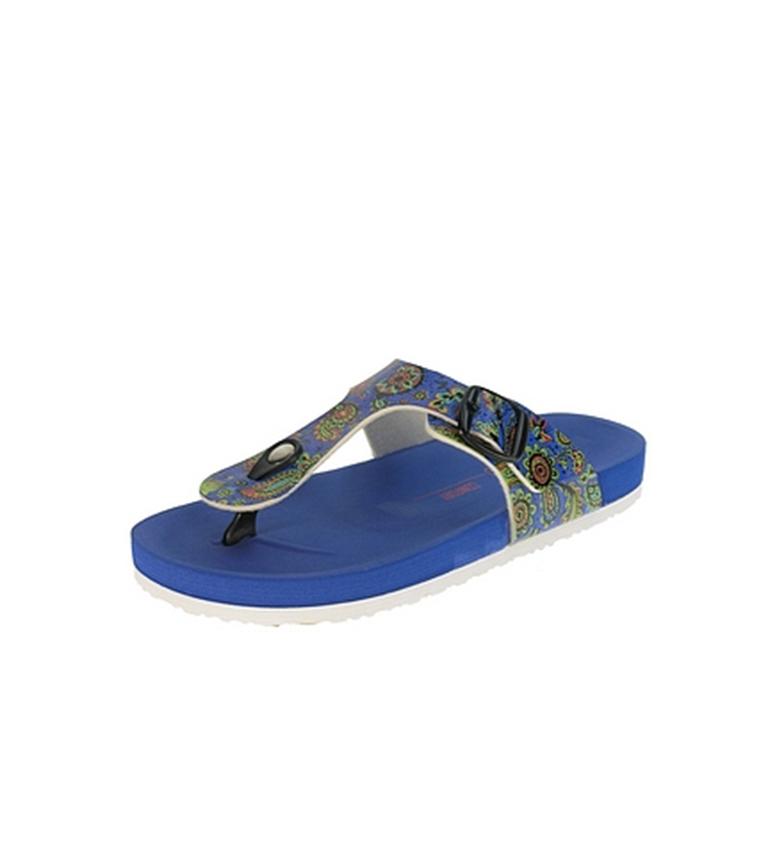 Beppi Zapatilla String Azul