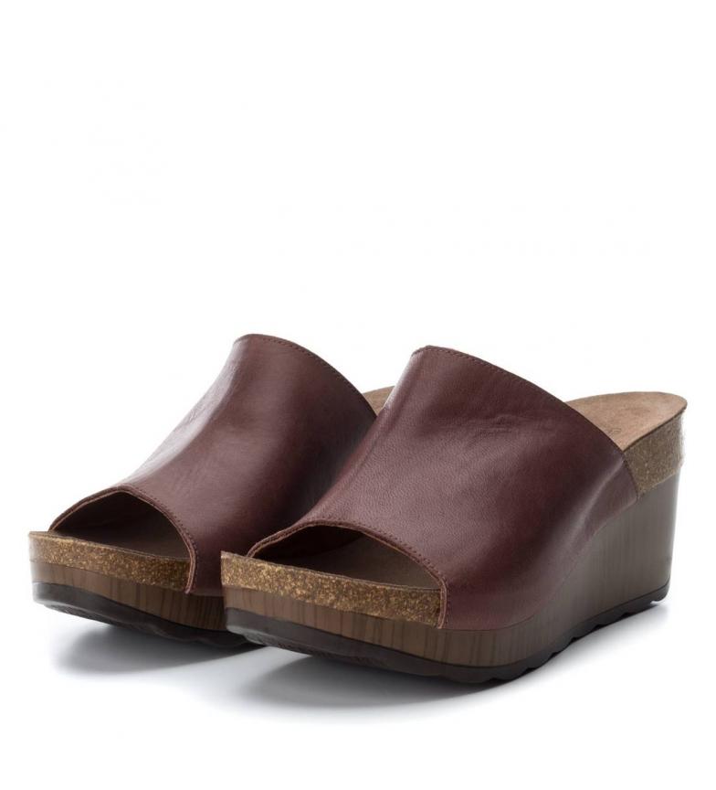 Sandale En Cuir Marron Carmela à vendre 2014 Réduction édition limitée sortie acheter obtenir pas cher profiter meilleur jeu i8xtfDmp3