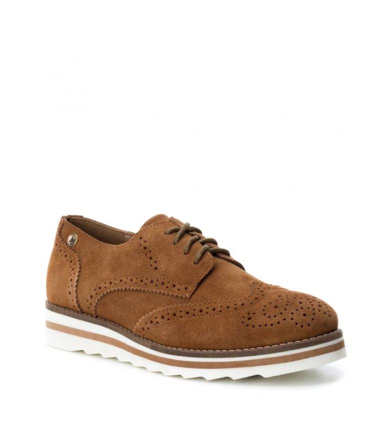 Camel Carmela Daim En Oxford Chaussures Chaussures En P1q8zw