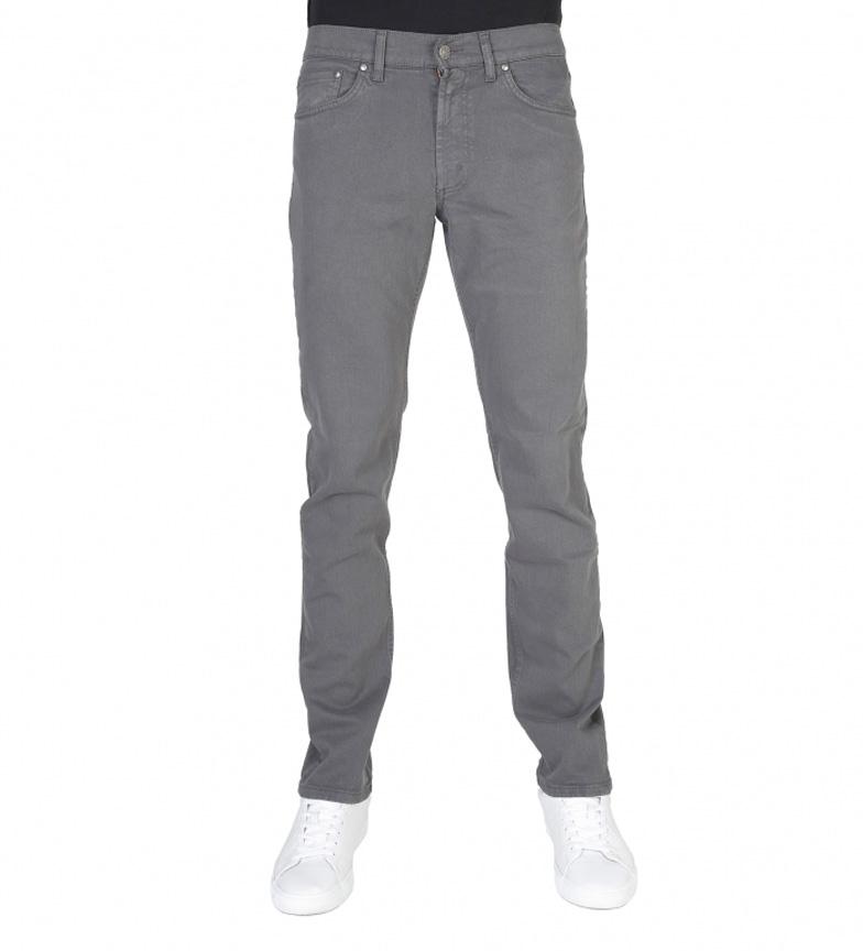 Carrière Jeans Gris Moyen Pantalon