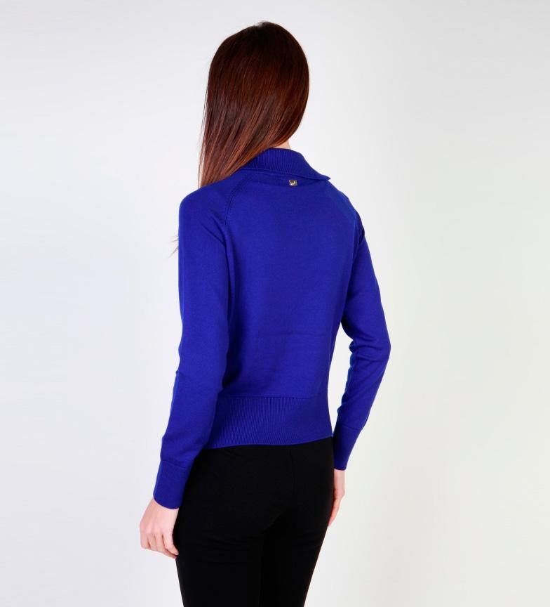 Manchester à vendre Jersey Classe Cavalli Fantasía Azul vue rabais recherche à vendre DhLB4U