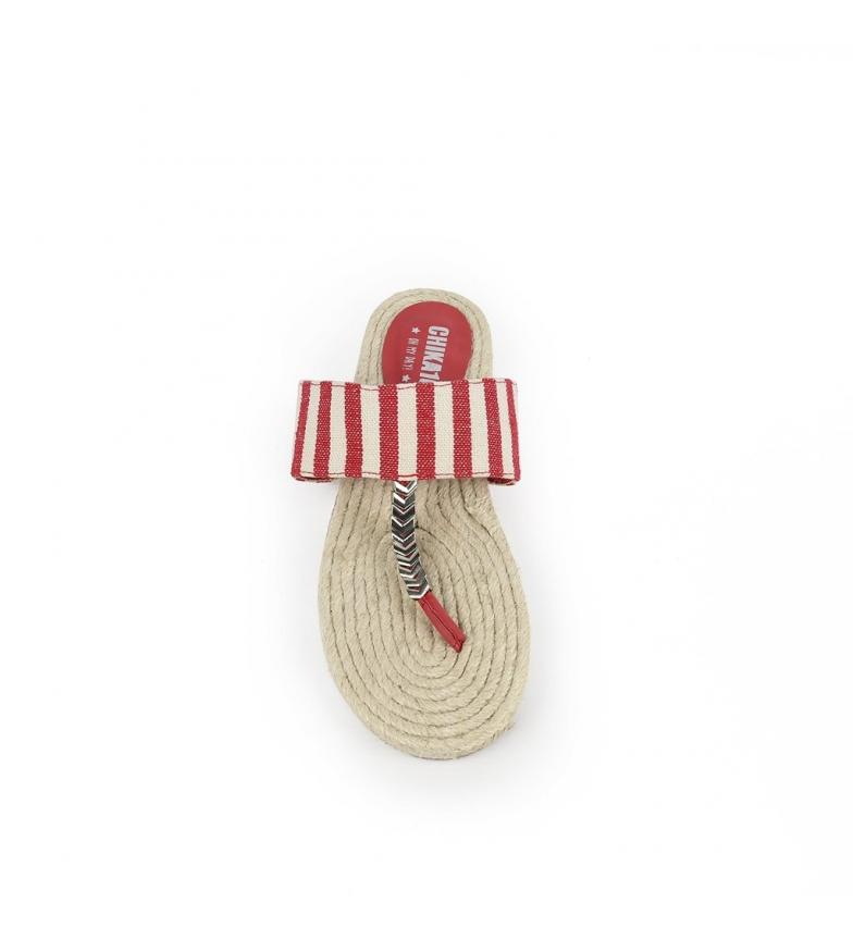 à bas prix vente moins cher Chika10 Sandalias Kuki 01 Rojo qualité originale eastbay de sortie q49VaL