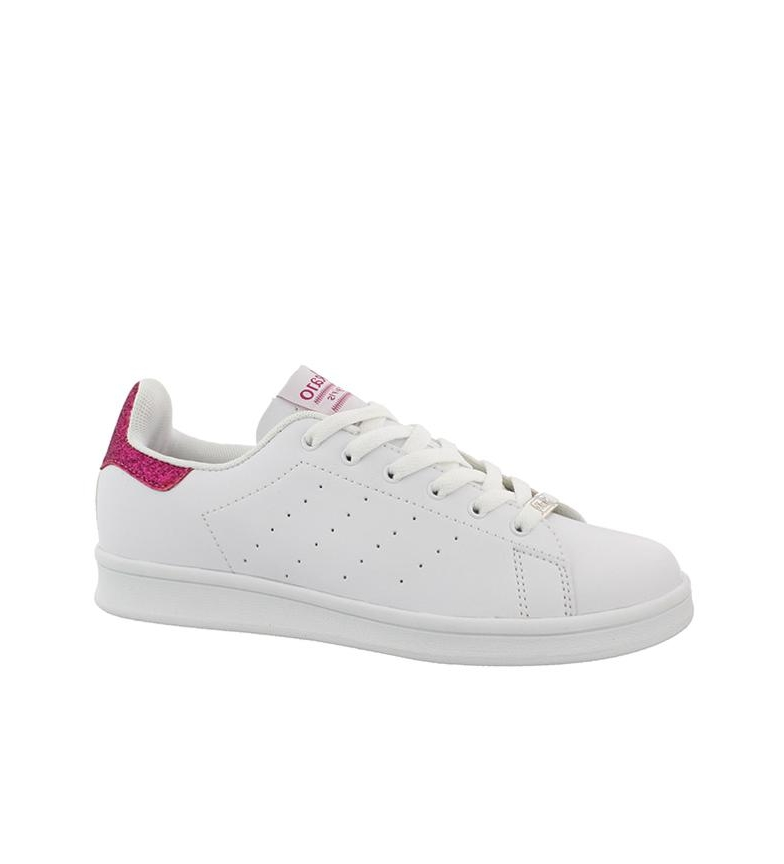 01 Chika10 Chaussures Sont Blanches, Fuchsia