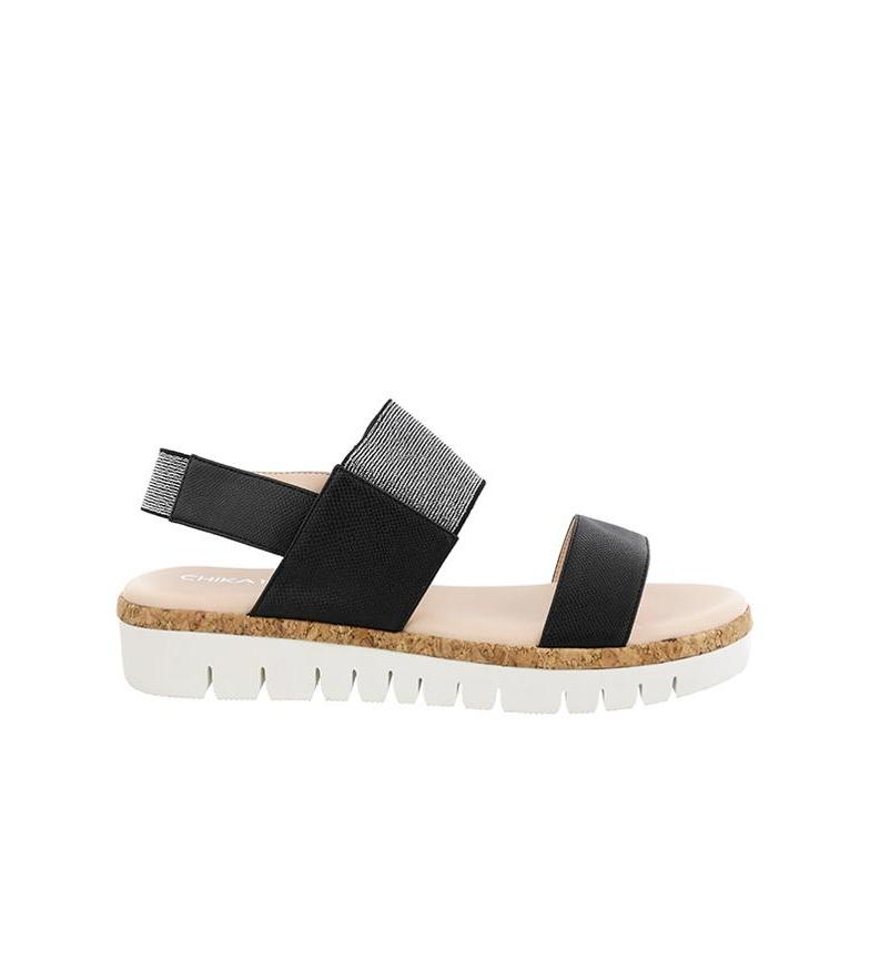 à vendre tumblr Livraison gratuite 2014 Chika10 02 Sandales Noires Idoia Pré-commander offres NXImUs