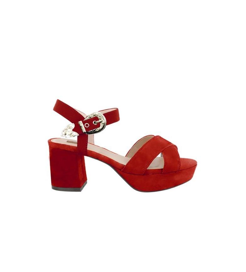 Sandales Rouges Chika10 Nouveau Cloe 09 vente 100% garanti 2015 à vendre bas prix 28v6z0