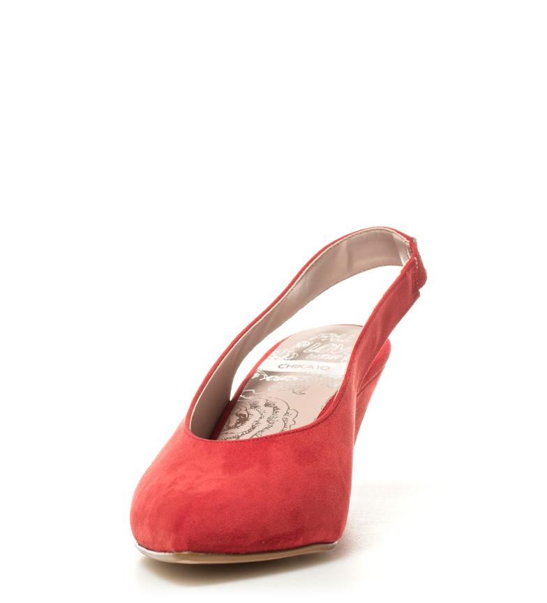 Chika10 02 Chaussures Rouges Talon Haut Lauper: 8cm dernier 0WLuumKU4
