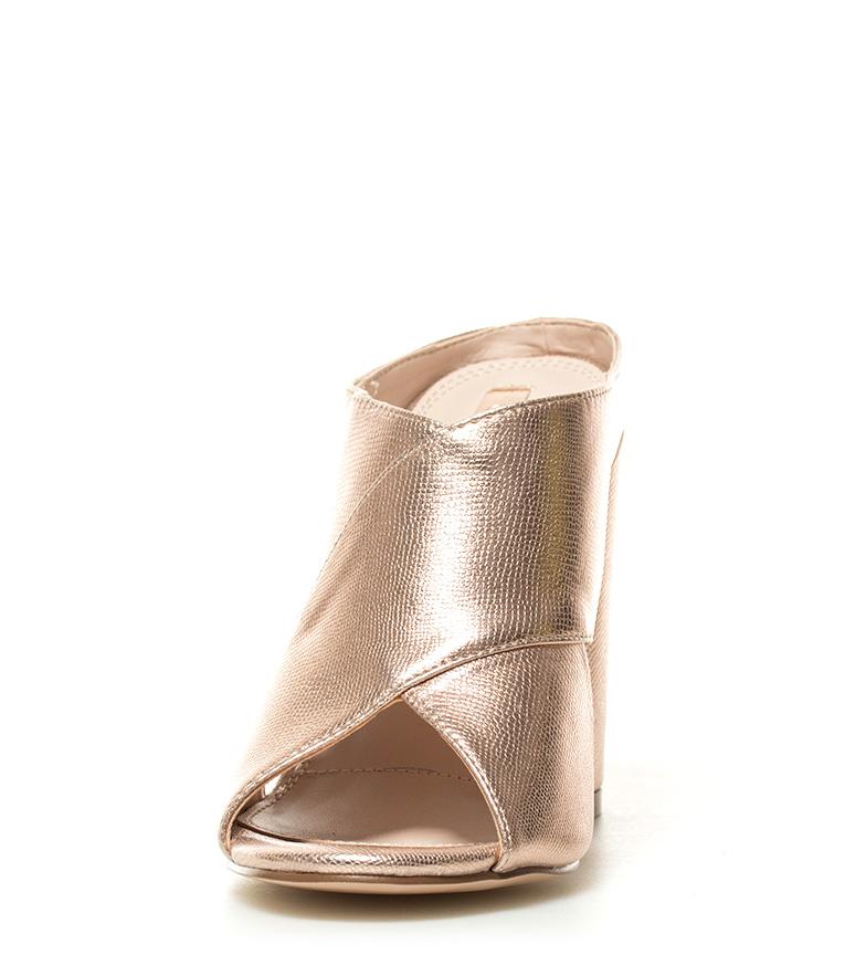 Chika10 Colmater Ada 05 Hauteur Du Talon Métal Bronze: 10 Cm offres en ligne 1CCrG