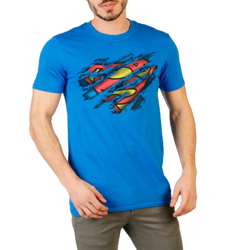 acheter à vendre Dc Comics Bleu Chemise Superman sortie d'usine 6axOEg8NR