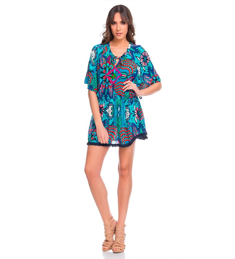 vente 100% d'origine Ramya Divine Robe Bleue pour pas cher réduction commercialisable prix des ventes la fourniture qKXQZ591o