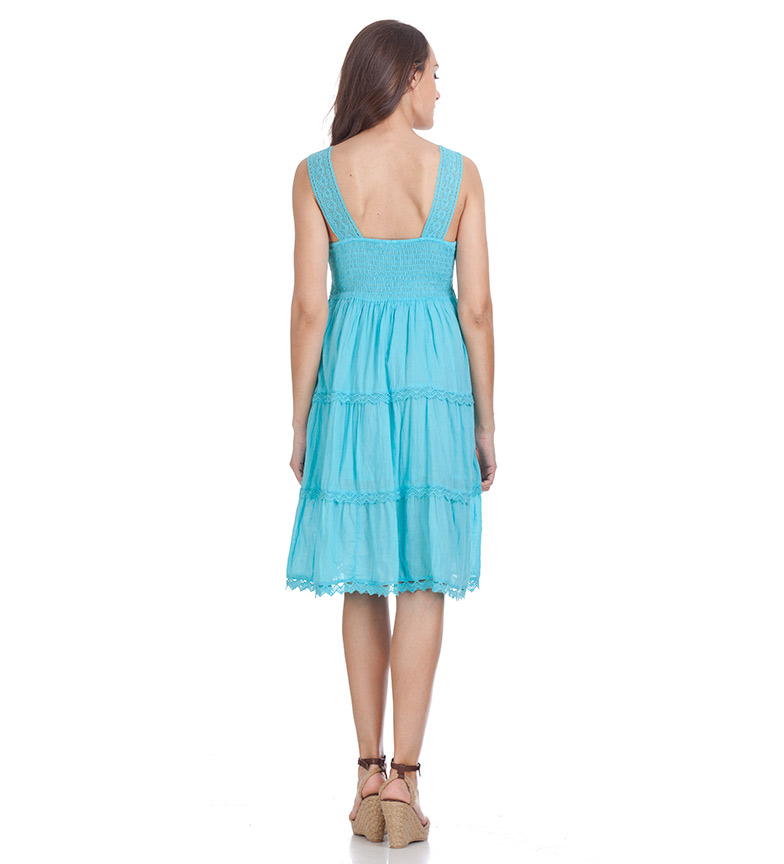 jeu best-seller Trisha Robe Turquoise Divine classique sortie sortie footlocker Finishline Offre magasin rabais qn16SWGrzo