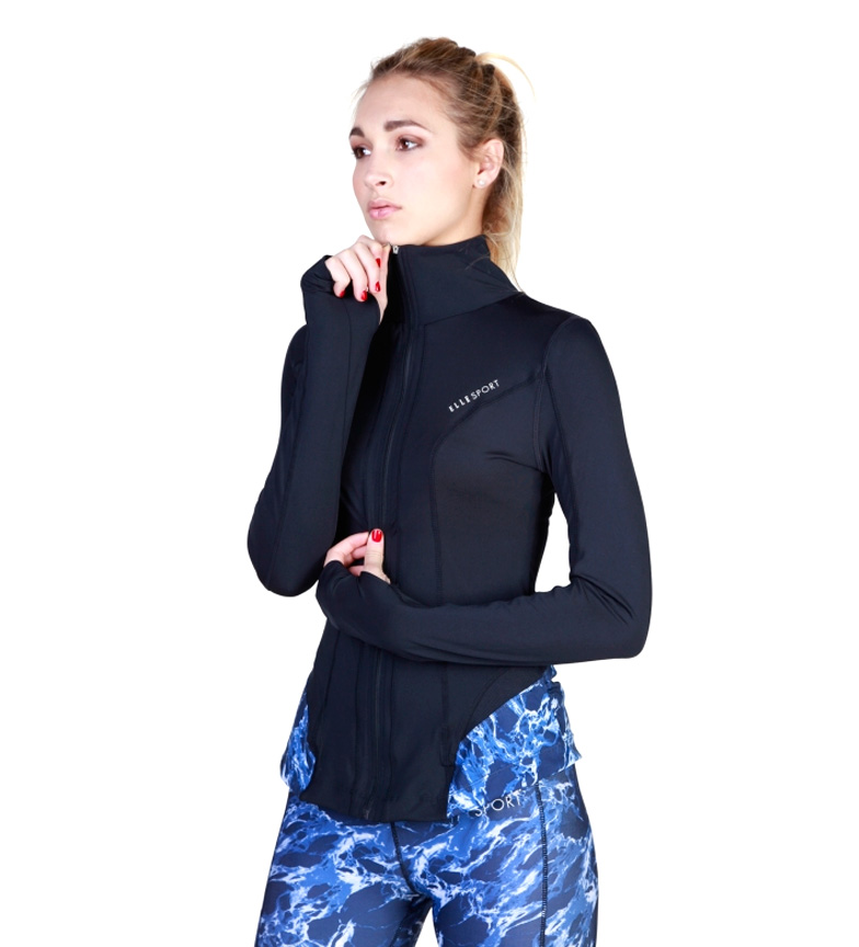 Elle Sport Chaqueta Ynve Azul vente livraison rapide Manchester choix en ligne magasiner pour ligne FXScvdQTn